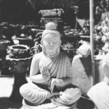 #buddha #magic #statue #black #white #god #bangalorestreet