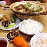 Chinese flavor, food, Bak Kut, rice with Chinese tea, all my favorite foods