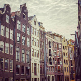Tall buildings in Amsterdam