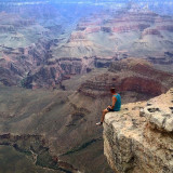 Went hiking in the Grand Canyon whilst road tripping across America