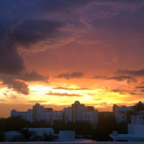 Beautiful Mexican sunset!