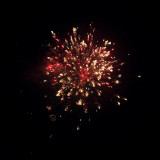 Happy New Years fireworks