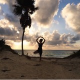Yoga on The Caribbean - Tulum, Mexico