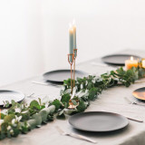Romatic, Boho Christmas Table