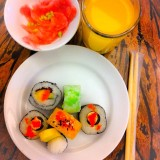 A Japanese food. A healthy meal for a healthy me. :)