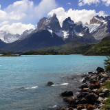 Torres Del Paine National Park in southern Patagonia in Chile, South America