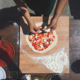 Fresh pizza in Florence!