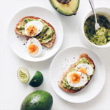 Avocado toasts : Simply the best breakfast ever.