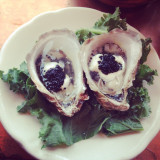 Russian oysters at Mac's Shack in Wellfleet, Cape Cod.