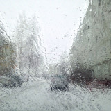 First spring day in Russia
