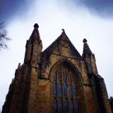 Cathedral in Dunkeld, Scotland.