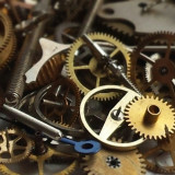 Time cogs clock parts