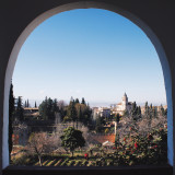 View from La Alhambra.