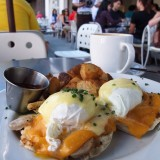 Delicious eggs for breakfast at Port Douglas