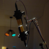Original mic in Studio B