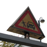 Safety - Trampling danger sign