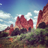 Red Rocks at Garden of the Gods, Colorado Springs, Colorado