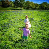 Fun in the Blue Bonnets!