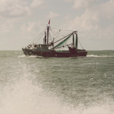 Fishing boat in the Outer Banks