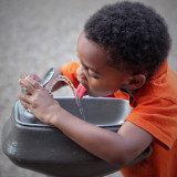 Stay hydrated. My son Noah
