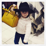 Yellow bag pose