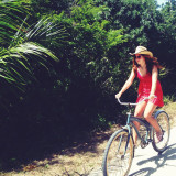 Summer biking