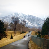Winter exercise in SLC.