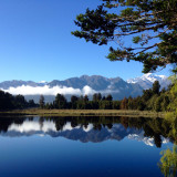 Lake Matheson, Fox Glacier, New Zealand