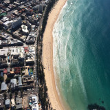 Manly Australia 2016. Taken from 1500ft in our news helicopter.