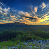 Sunset at Mount Snow a few summers ago.
