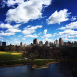 Clouds on Central Park NYC