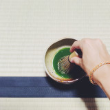 Making green tea