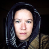 selfie of a woman in a headscarf
