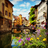 Old Town in Annecy, France