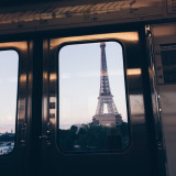 Subway and the Eiffel Tower
