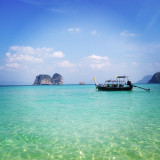 Island hoping in Thailand.