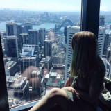 An interesting day at the Sydney eye tower. Amazing views