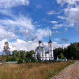 Church dedicated to Saint Nicholas in the Kostroma region of Russia