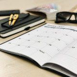 Note book and planner