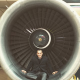 airport airline airplane engine flying