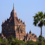 Sulamani Temple in the ancient city of Bagan in Myanmar (Burma).