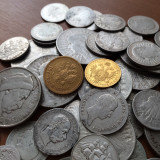 old treasure of gold and silver coins