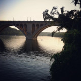 Francis Scott Key Bridge, Washington DC, summer 2012