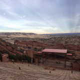 Red Rocks Amphitheater in Colorado.