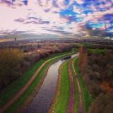 Stretford from a dji phantom