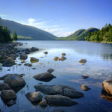 Summer at Jordan Pond, Acadia National Park