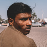 Indian man on the street