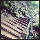 Stairway to nowhere, IAO Valley