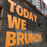 Today we brunch.