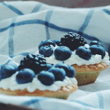 Muffins with bluberry